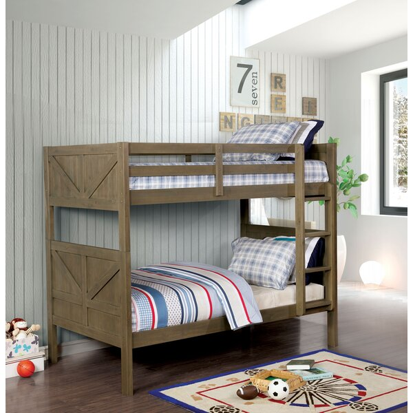 Belkis Twin over Twin Bunk Bed by Harriet Bee