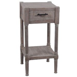 Diawara End Table with Drawer by Augus..