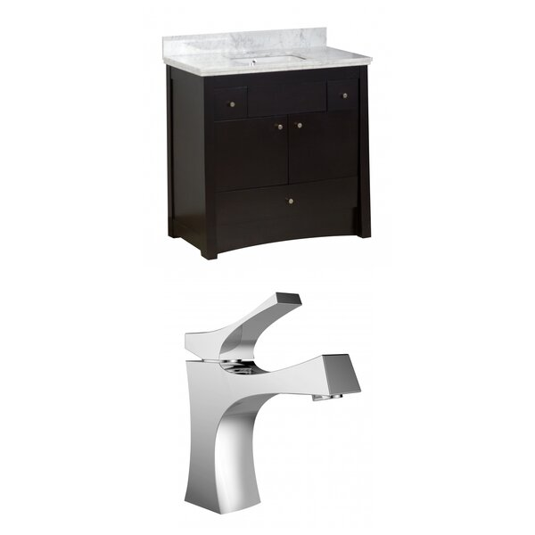 Kimbrell Floor Mount 36 Single Bathroom Vanity Set by Royal Purple Bath Kitchen