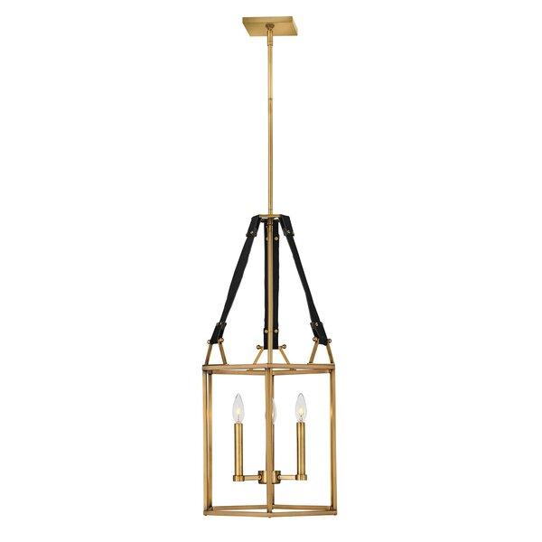 Monroe 3 - Light Lantern Rectangle Chandelier by Hinkley Hinkley