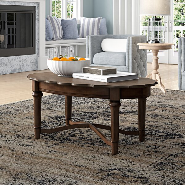Rexford Cross Legs Coffee Table By Three Posts
