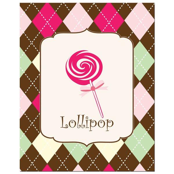 Sweet Lollipop Art Print by Secretly Designed
