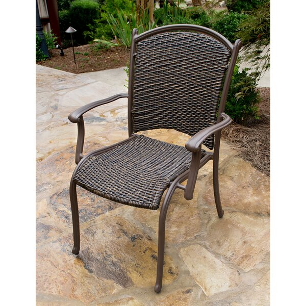 Christmas Stacking Patio Dining Chair by Darby Home Co