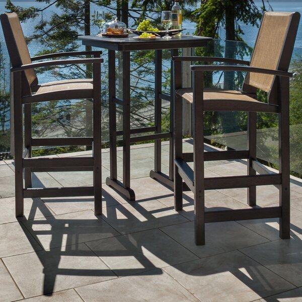 Coastal 3-Piece Bar Set by POLYWOOD®