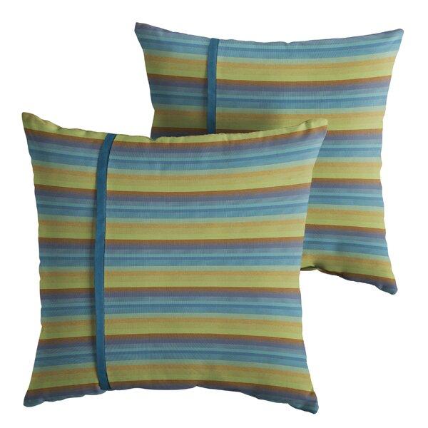 Vanhoose Indoor/Outdoor Throw Pillow (Set of 2) by Red Barrel Studio
