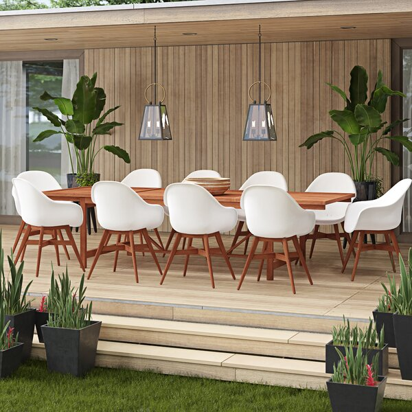 Alshain 11 Piece Dining Set by Mercury Row