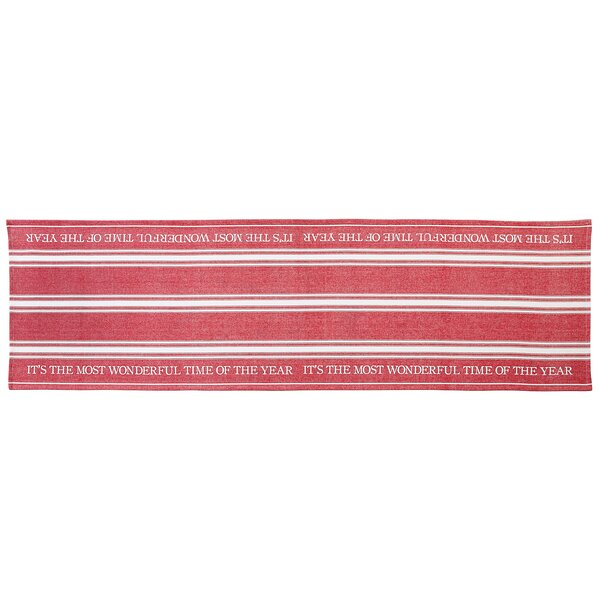 Grainsack Holiday Table Runner by Mud Pie™