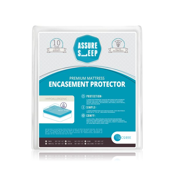Assure Sleep Hypoallergenic Waterproof Mattress Protector by LaCozee