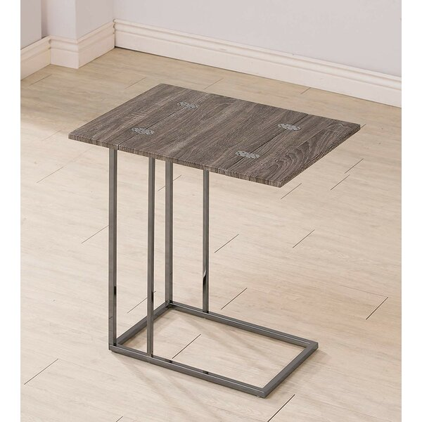 Odyssey C Table End Table By Ivy Bronx