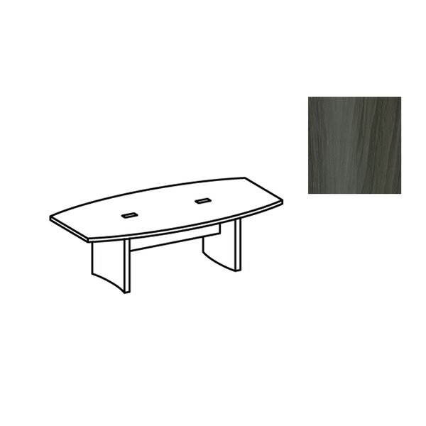 Aberdeen Boat shaped 29.5H x 48W x 96L Conference Table by Mayline Group