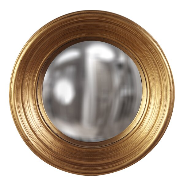 Modern Deep Concave Accent Mirror by Everly Quinn