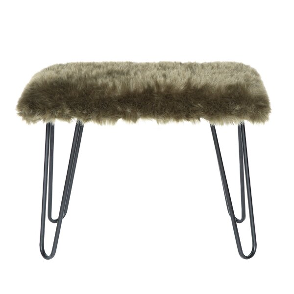 Bradley Junction Vanity Stool by Bungalow Rose