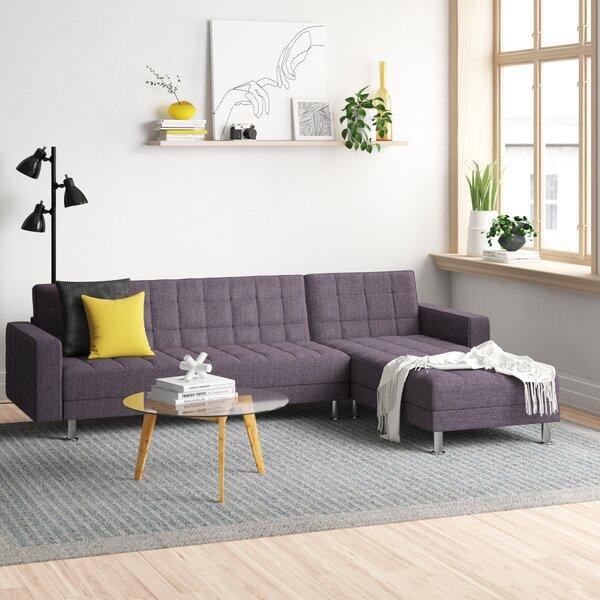 Rosina Reversible Sleeper Sectional By Zipcode Design