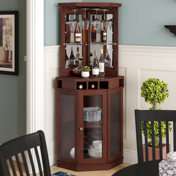 Arms Bar with Wine Storage by Red Barrel Studio