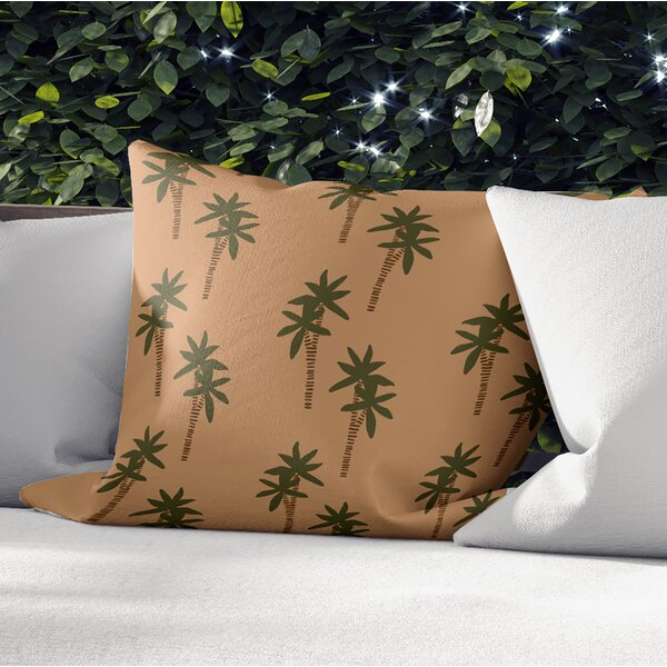 Vannie Outdoor Square Pillow Cover and Insert