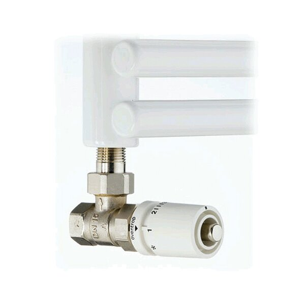 Hydronic 0.5 Standard Angle Thermostatic Control Valve by Runtal Radiators