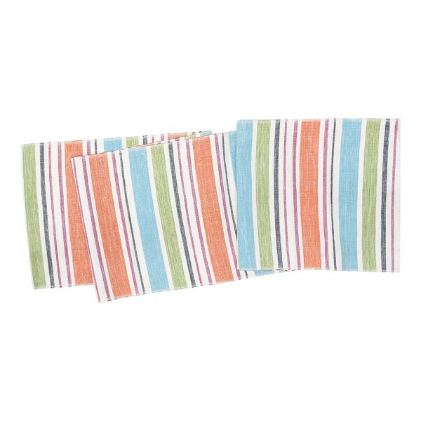 Hagopian Stripe Table Runner by Highland Dunes