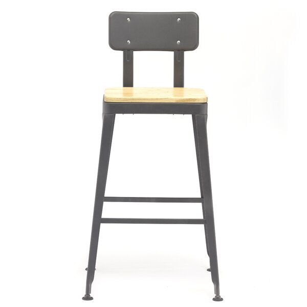 Magill 30.3'' Bar Stool (Set of 2) by 17 Stories 17 Stories