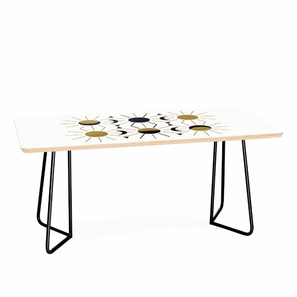 Moon And Sun Coffee Table By East Urban Home