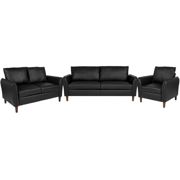 Oneill Upholstered 3 Piece Living Room Set by Williston Forge