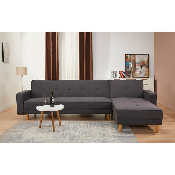 Lawrence Hill Convertible Reclining Sectional by Union Rustic