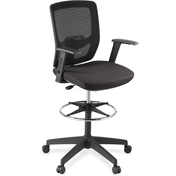 Breathable High-Back Mesh Desk Chair by Lorell