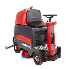 Sauber 34 Gallon Ride-On Scrubber Wet / Dry Vacuum