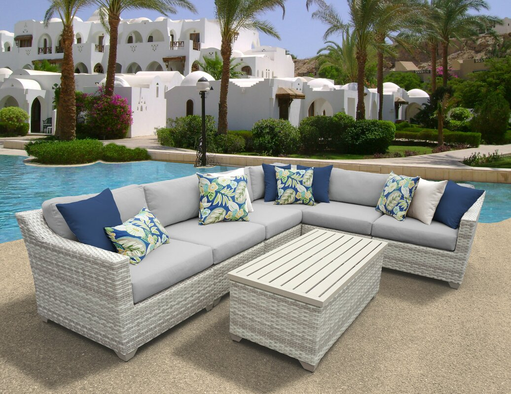 cushions home set today knight with rosa patio product garden outdoor santa shipping seating by piece christopher overstock free wicker sale sectional