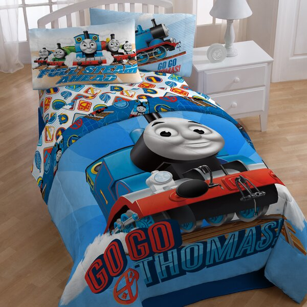 Thomas and Friends Go Go Twin Comforter by Thomas and Friends