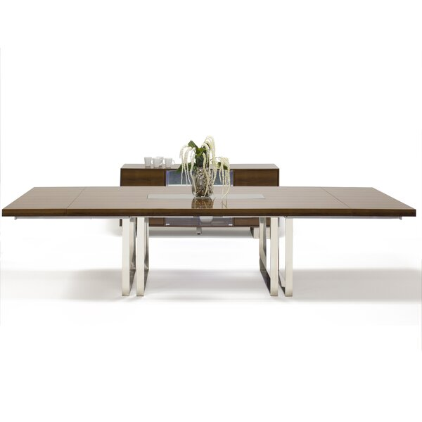 Greta Extendable Dining Table by Wrought Studio