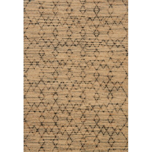 Pangkal Pinang Hand-Woven Brown Area Rug by Union Rustic