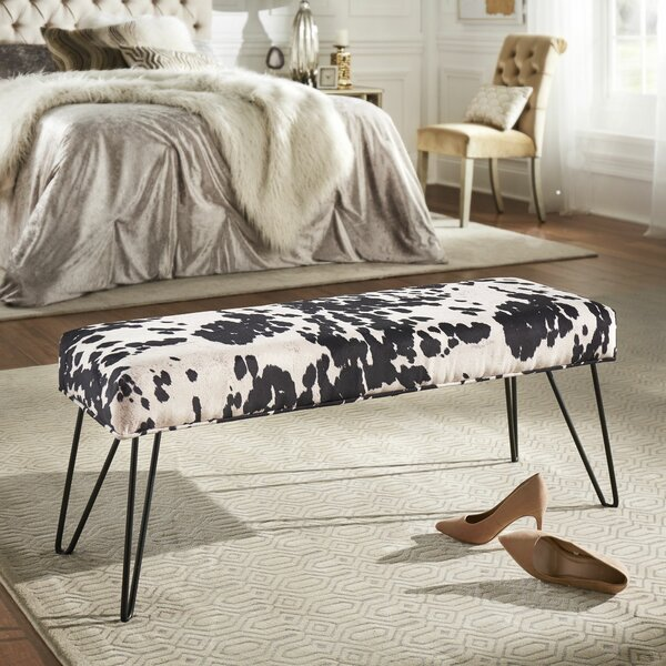 Harrod Upholstered Bench by Union Rustic