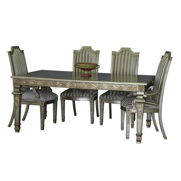 Middleburgh Solid Wood Dining Table by Astoria Grand