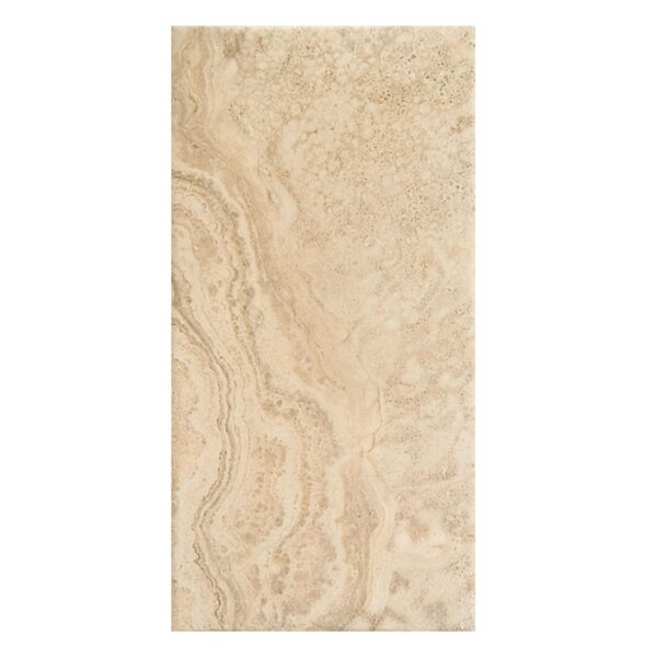 Tuscany 12 x 24 Porcelain Field Tile in Bone by Casa Classica