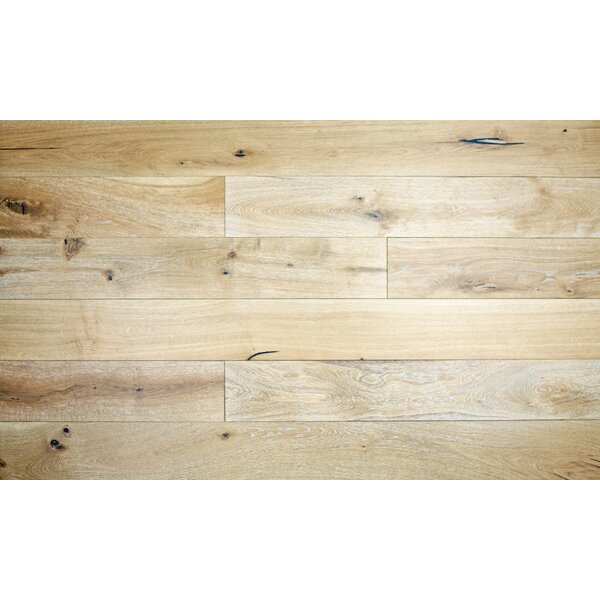 Clara 7-1/2 Engineered Oak Hardwood Flooring in Tan by Majesta