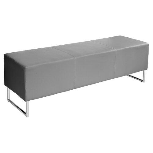 Gepolsterte Sitzbank Khinvasara Perspections Polsterfarbe: Grau | Küche und Esszimmer > Sitzbänke > Einfache Sitzbänke | Perspections