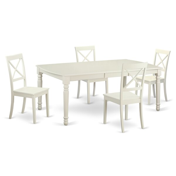 Pimentel 5 Piece Dining Set by August Grove