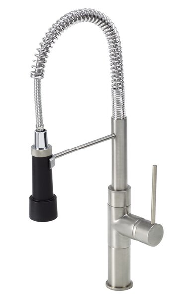 Pull Down Single Handle Kitchen Faucet by Just Manufacturing