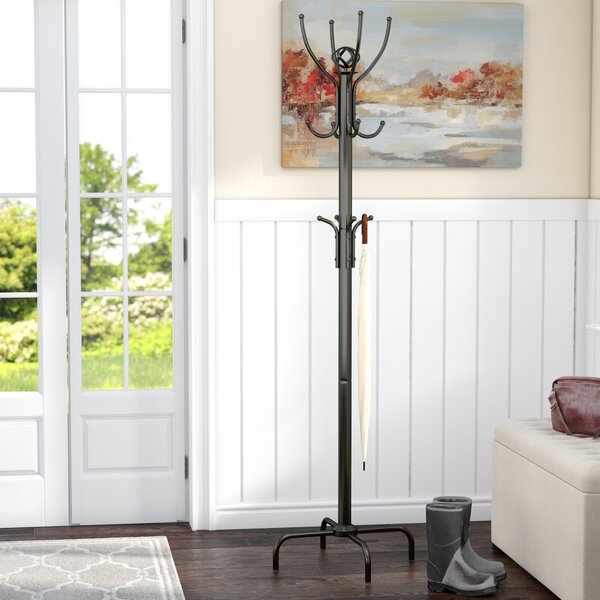 Livingstone Lister Metal Coat Rack by Charlton Home
