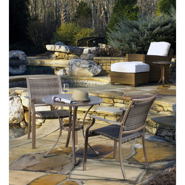 Island Cove 3 Piece Bistro Dining Set by Panama Jack Outdoor