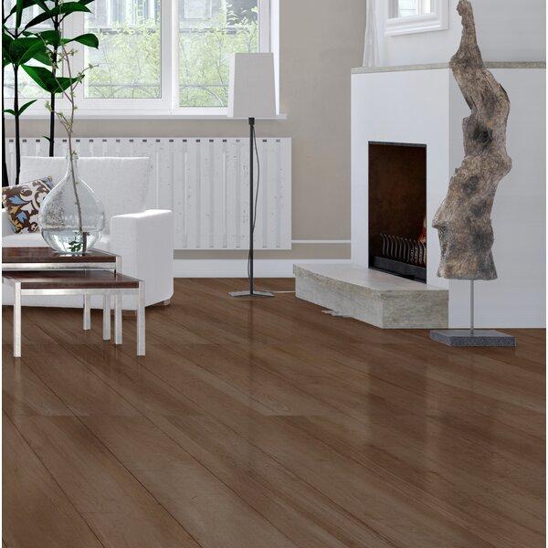 High Sierra 9 x 48 Porcelain Wood look Tile in Marron by Tesoro