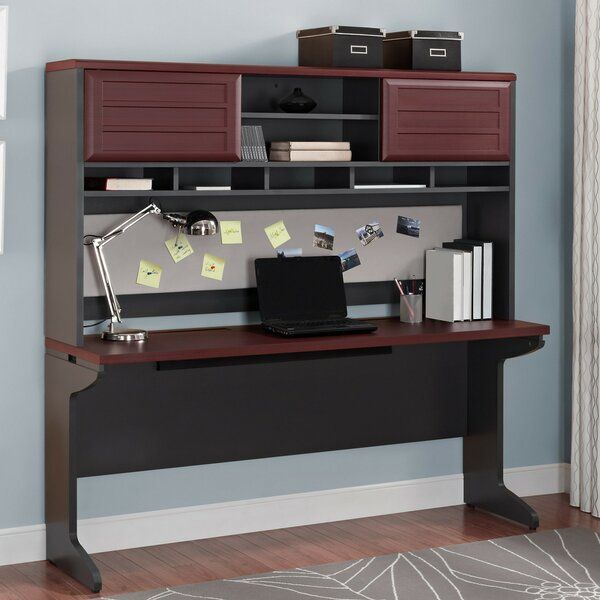 Elizabeth Desk Executive Desk with Hutch by Latitude Run
