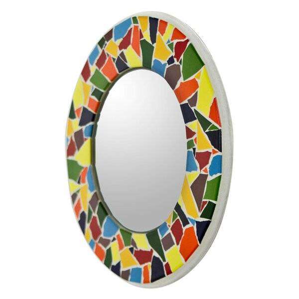 Confetti Ring Accent Mirror by Novica