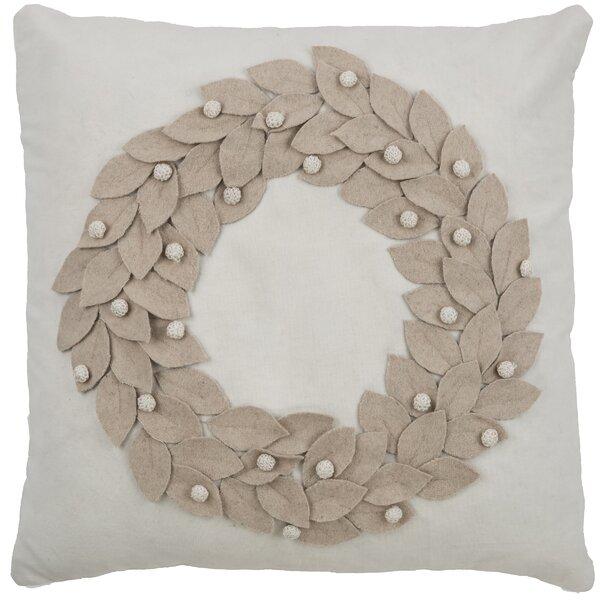 Vienna Wreath Pillow Cover by Birch Lane™