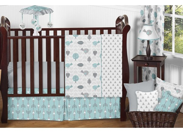 Earth and Sky 11 Piece Crib Bedding Set by Sweet Jojo Designs