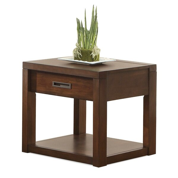 Marazi End Table by Three Posts