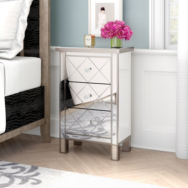 Channelle 3 Drawer Accent Chest by Willa Arlo Interiors