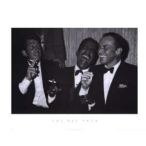 Rat Pack by Silver Screen Photographic Print by Evive Designs