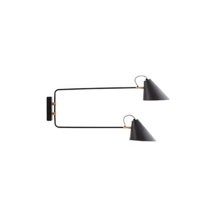 Double insulated wall lights wayfair club double 2 light armed sconce aloadofball Images