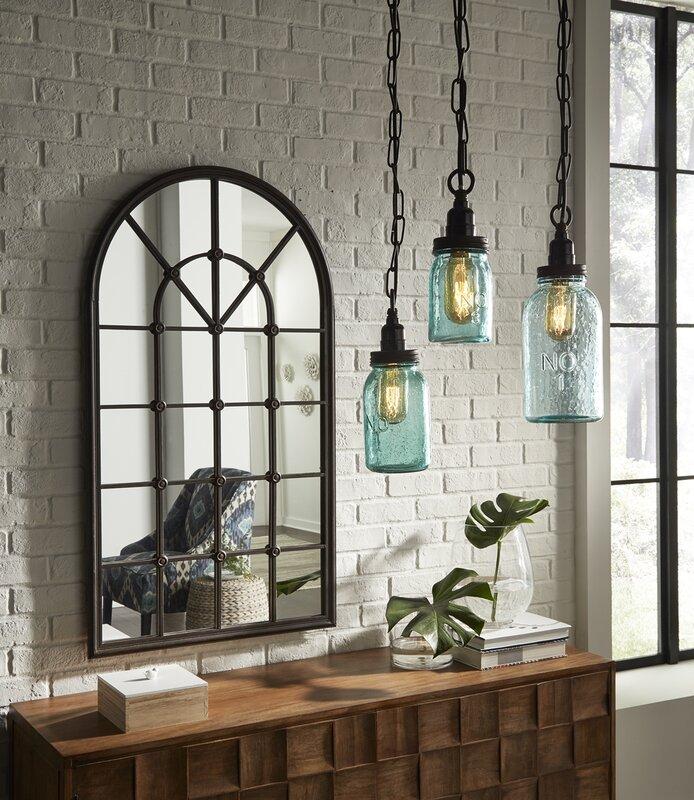 Stargaze Set Of 2 Hanging Mason Jar Pendant Lights By: August Grove Norgate Mason Jar Mini Pendant Set & Reviews